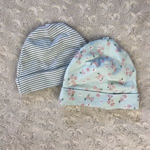 Baby Girl Hats Newborn Stripes Floral Carter's H&M